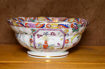 Rare Antique CJ MASON'S Bowl, Cca 1830, Pattern No. 948 • 25£