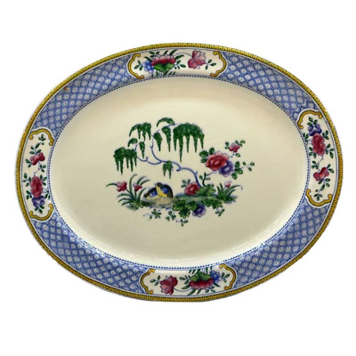 Booths Silicon China Chester Rd660099 Oval Platter • 29.99£