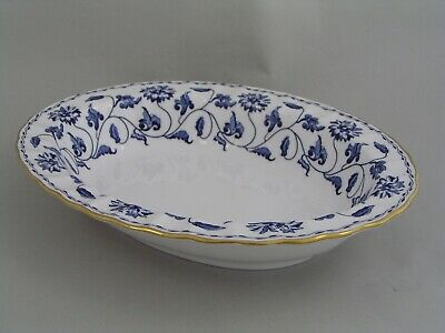 Spode Colonel Blue 9 3/4  Oval Vegetable Dish. • 44.99£