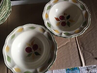 Marks And Spencer Damson Cereal Bowls X 2 Diameter 19cm • 14.99£