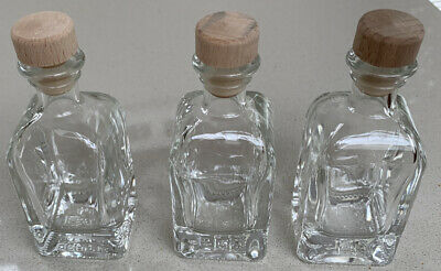 Kefla Depose 4cl No. 4 Bottles With Stoppers X4 • 1.50£