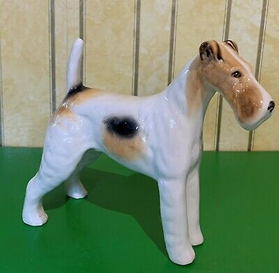 BESWICK DOG WIRE HAIRED TERRIER TALAVERA ROMULUS GLOSS MODEL No 963 PERFECT • 49.99£