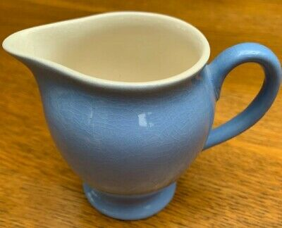 Blue Small Jug Made In England • 2.50£