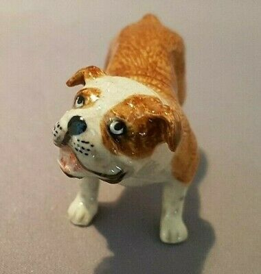 Bulldog. Hand Painted Porcelain. Ref Xfd. • 9.99£