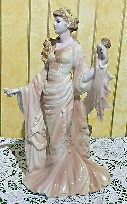 Wedgwood Lady Classical Collection  Reflection Martin Evans Porcelain Perfect • 39.99£