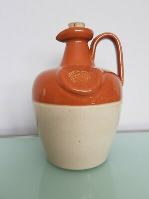 Lovely Glazed Pottery Wine Jug Approx 7 Inches In Height  • 12£