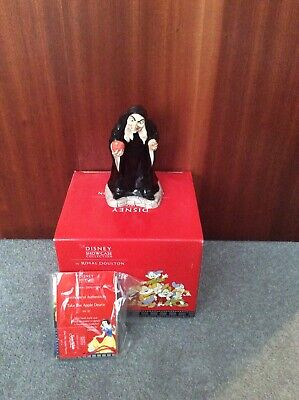 Royal Doulton Disney Figurines. Snow White And Wicked Witch. Showcase Collection • 199.99£