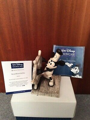 Royal Doulton Walt Disney Showcase Mickey Mouse Steamboat Willie Figurine Boxed • 199.99£