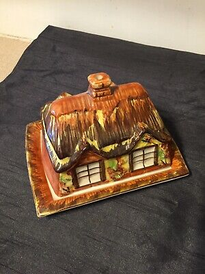 Vintage Novelty Butter Dish Cottage Ware By Price & Sons  • 7.50£
