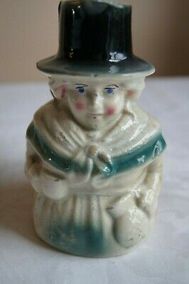 Antique Toby Jug With Woman Holding Jug • 3.50£