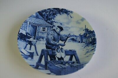 Small Delft Plate -Delft Blauw Hand-decorated Made In Holland • 4.70£