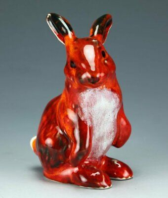 Anita Harris Art Pottery, The Rabbit Figure, Gold Signed • 39.99£