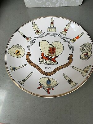 Goss Collectors Annual Plate 1985 - Lighthouses. • 2.60£