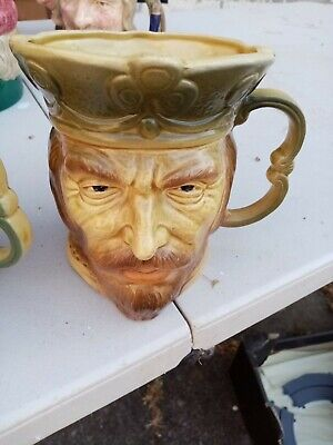 Character/toby Jug-kingston Pottery-king Henry ? • 10£