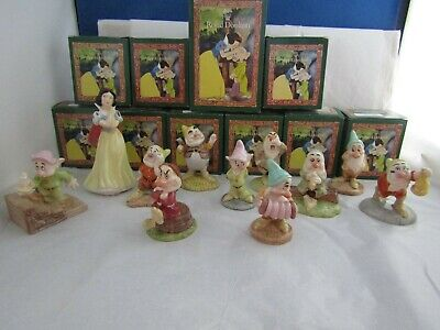 New & Boxed Snow White And Seven Dwarfs Selection Royal Doulton Disney Classic  • 34.95£