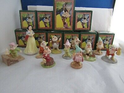 Snow White And The Seven Dwarfs Selection By Royal Doulton Disney Classic  • 34.95£
