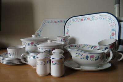 BHS British Home Stores PRIORY SERVING TABLEWARES  EXCELLENT COND • 12.50£
