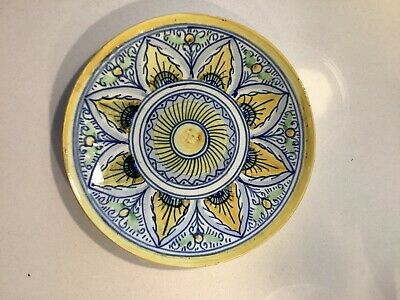 Hand Painted Decorative Wall Plate - Spanish • 2.99£