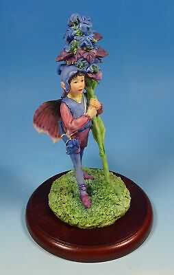 Border Fine Arts Cicely Mary Barker Flower Fairies The Bugle Fairy Figurine • 40£