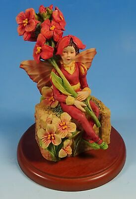 Border Fine Arts Cicely Mary Barker Flower Fairies The Wallflower Fairy Figurine • 26£