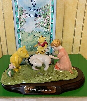 Royal Doulton Disney Winnie The Pooh Eeyore Loses A Tail Wp 15 Ltd Edition Boxed • 14.99£
