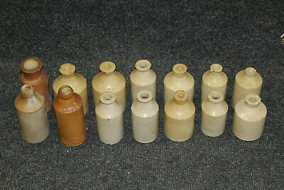 14 X Antique Stoneware Jar And Bottles Job Lot FREE DELIVERY • 7£