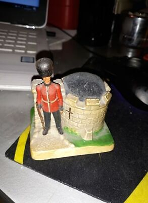 MANOR WARE PINCUSHION CASTLE SOLDIER RARE Pin Cushion  • 19£