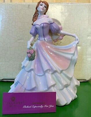 Coalport China Lady Picked Especially For You Sentiments  Perfect Boxed • 39.99£
