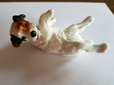 Rare Royal Doulton Cecil Aldin Character Dog Lying On Back Hn 1098 • 4.99£