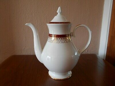 Royal Grafton Majestic - Red - Coffee Pot - Excellent Condition • 34.99£
