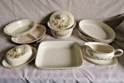 MARKS & SPENCER (St. Michael M&S) HARVEST Oven To Tableware DISHES CASSEROLE VGC • 13.50£