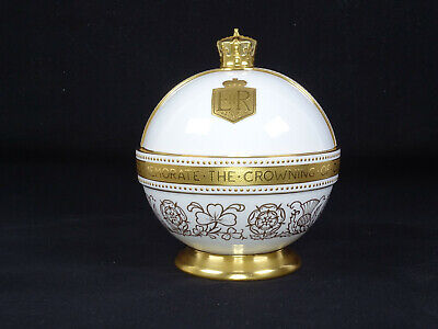 Rare Minton China Orb To Commemorate The Crowning Of Queen Elizabeth Ll 318/600 • 265£