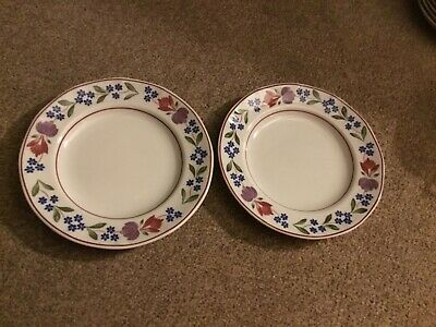 Adams Old Colonial Tea Side Plates X 2 Diameter 7 Inches • 18.99£
