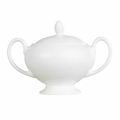 Wedgwood White Covered Sugar Bowl 0.38L • 47.80£