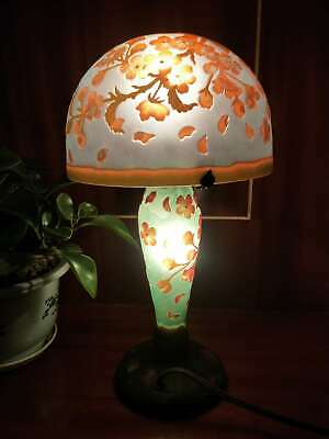 Details About  Very Beautiful. Emile Galle Lamp  • 149£