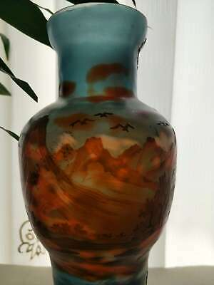 Very Beautiful. Emile Galle Dragonfly Vase • 79£