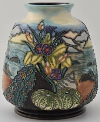 Attractive Moorcroft Pottery Islay Vase Designed By Rachel Bishop • 125£