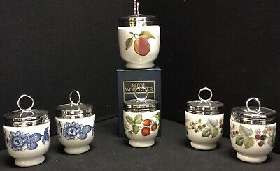 Collection Of 6 Royal Worcester Egg Coddlers • 51£