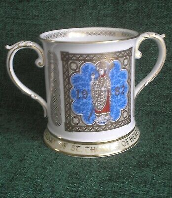 Loving Cup St.Thomas Cantilupe Bishop Of Hereford 700th Anniversary Editn SPODE  • 12.99£