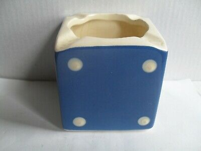 Devon Sandygate Pottery Ashtray Domino Pattern, Perfect, • 9.99£
