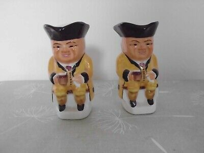 Two Small Toby Jugs Made In England • 4.50£