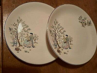 2 X Alfred Meakin Oklahoma Plates 7.75  • 4.99£
