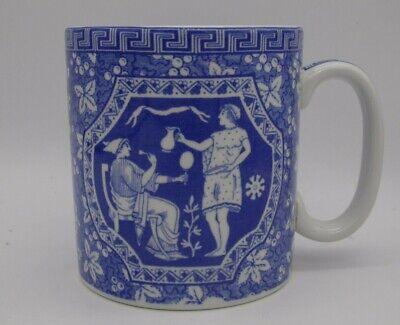 The Spode Blue Room Collection  Greek  Mug - Unused With Box • 11.95£