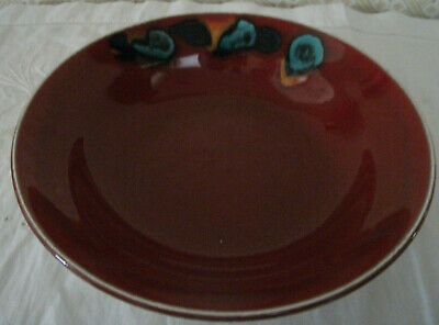 POOLE POTTERY ODYSSEY BOWL/s 23.5 Cms Diameter *TWO AVAILABLE* • 25£