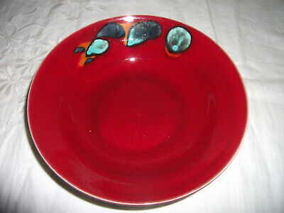 POOLE POTTERY ODYSSEY BOWL/s 18.5 Cms  (7 1/2  Approx)Diameter *TWO AVAILABLE* • 16.99£