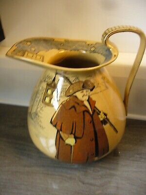 Royal Doulton What Of The Night Nightwatchman Large Jug • 12£