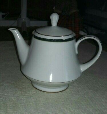Boots Hanover Green Pattern Large Size Teapot  • 17.99£