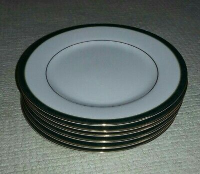 Set Of X6 Boots Hanover Green Pattern 16cm Diameter Side Plates. • 8.99£