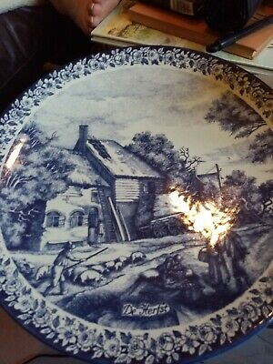 Delf Blauw Collectable Plate • 3£