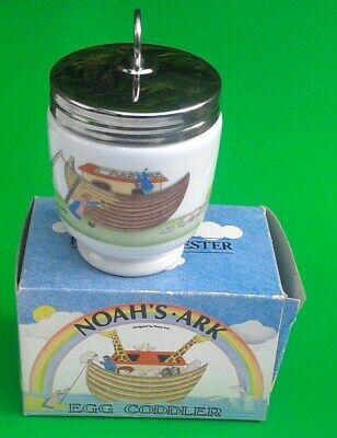 Boxed Royal Worcester Egg Coddler NOAH'S ARK By Penny Ives Excellent Condition • 29.99£